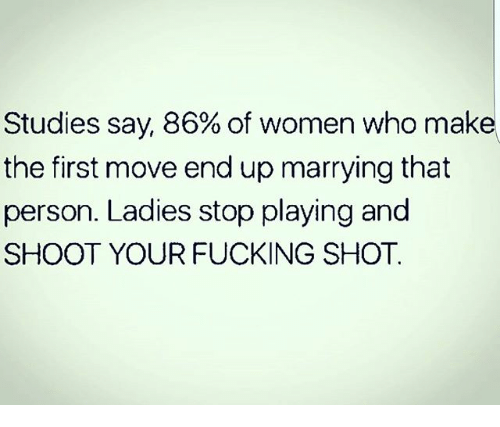 Women Who Make The First Move