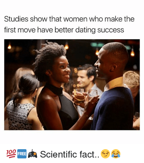 First move the Should women make