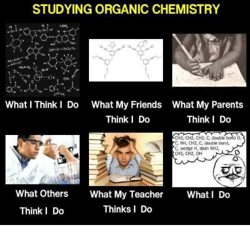 studying organic chemistry what l think do what my friends 6090670 ✅ 25 best memes about organic chemistry organic chemistry memes,Funny Organic Chemistry Memes