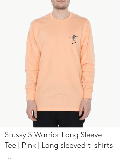 ae280887 Pink, Stussy, and Warrior: Stussy S Warrior Long Sleeve Tee | Pink