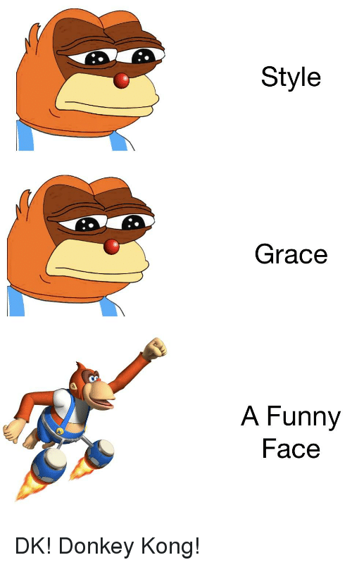 Style Grace A Funny Face Donkey Meme On Meme