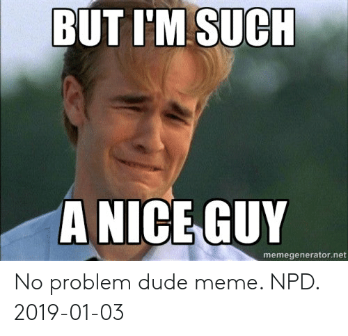 Meme no problem dude See the