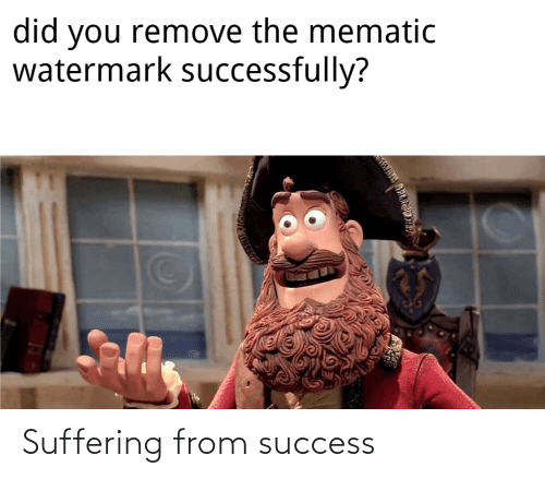 Success, Suffering, and From: Suffering from success