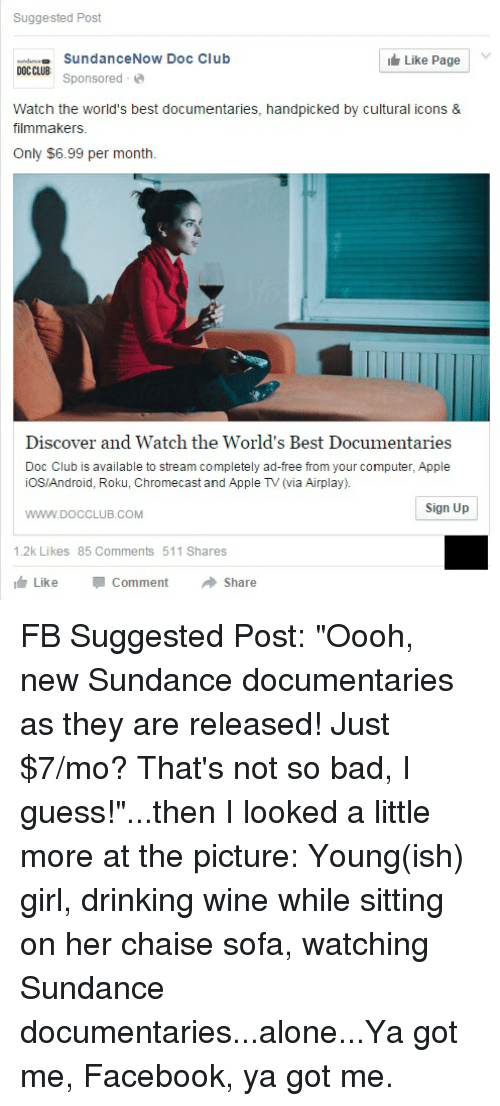 Suggested Post Like Page Sundance Now Doc Club E DOCCLUB