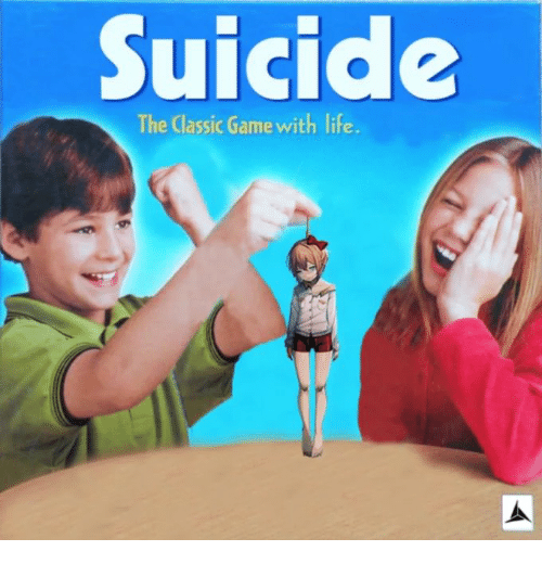 Suicide the Classic Game With Life | Life Meme on ME ME