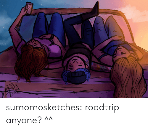 Target, Tumblr, and Blog: sumomosketches:  roadtrip anyone? ^^