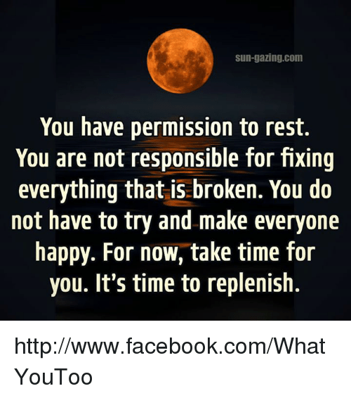 examples of taking responsibility for your actions