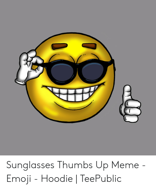 Telts Sākums Malāvija Sunglasses Thumbs Up Emoji - Ipoor.org