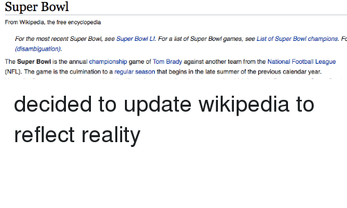 0c5b8adfaf1 Super Bowl From Wikipedia the Free Encyclopedia for the Most Recent ...