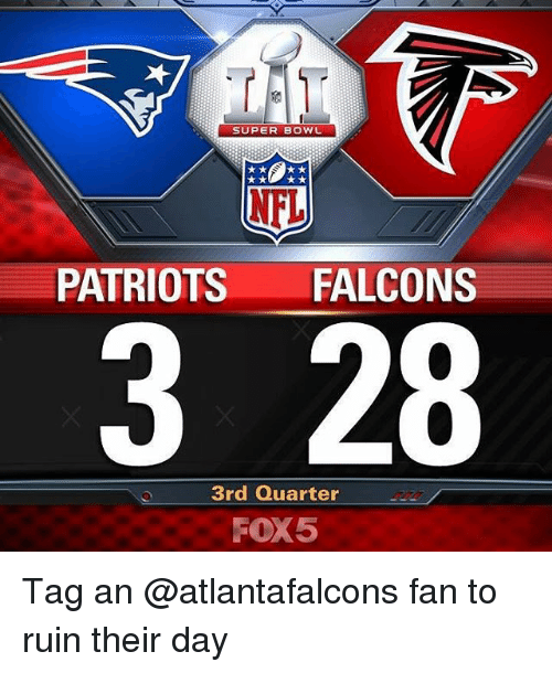 super bowl nfl patriots falcons 3 28 3rd quarter fox5 17448849 super bowl nfl patriots falcons 3 28 3rd quarter fox5 tag an fan to