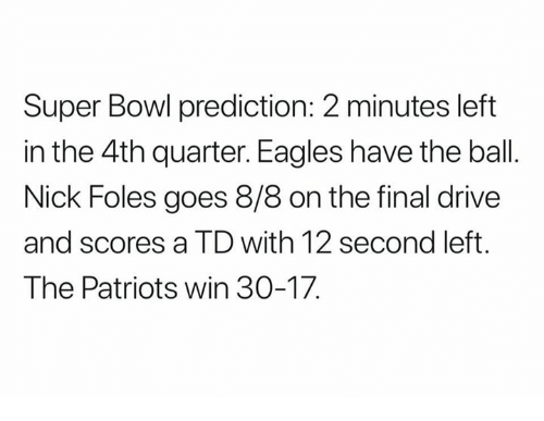 Super Bowl 2018 predictions: Expert picks for Eagles vs. Patriots
