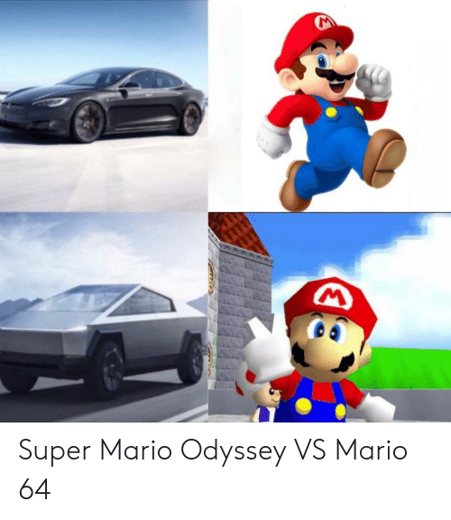 Super Mario Odyssey Vs Mario 64 Super Mario Meme On Me Me