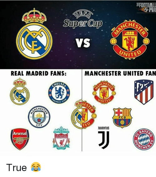 Barcelona Vs Real Madrid Or Liverpool Vs Manchester United: 25+ Best Memes About Manchester United