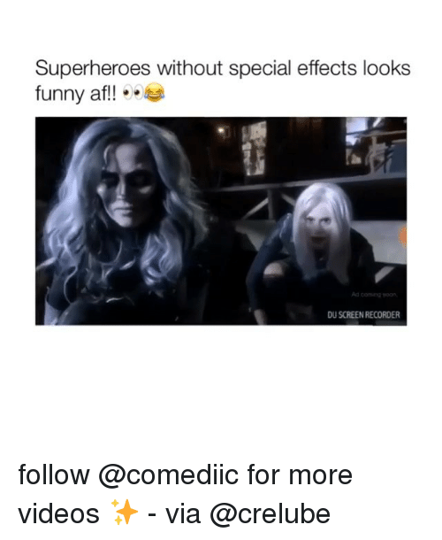 Superheroes Without Special Effects Looks Funny Af!!4 Ad