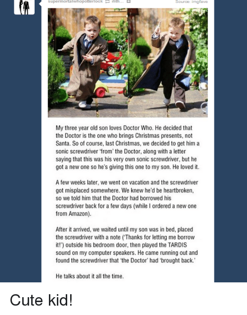 amazon christmas and cute superinmortal whopotterlock source inngfave my three year old