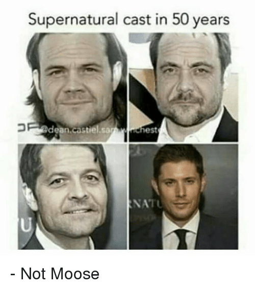 Supernatural Cast In 50 Years Dean Astiel Sa Ehest