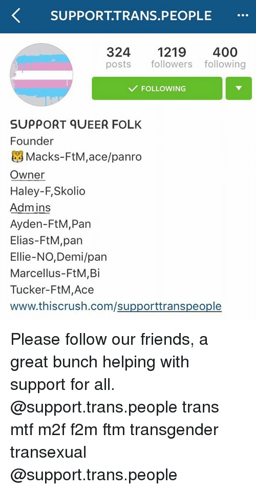 Mtf support chat