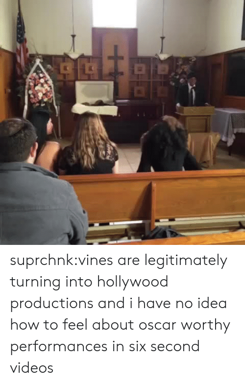 Target, Tumblr, and Videos: suprchnk:vines are legitimately turning into hollywood productions and i have no idea how to feel about oscar worthy performances in six second videos