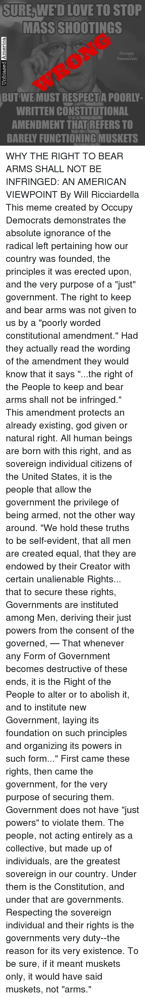 We Hold These Truths To Be Self Evident That All Men Are Created Equal