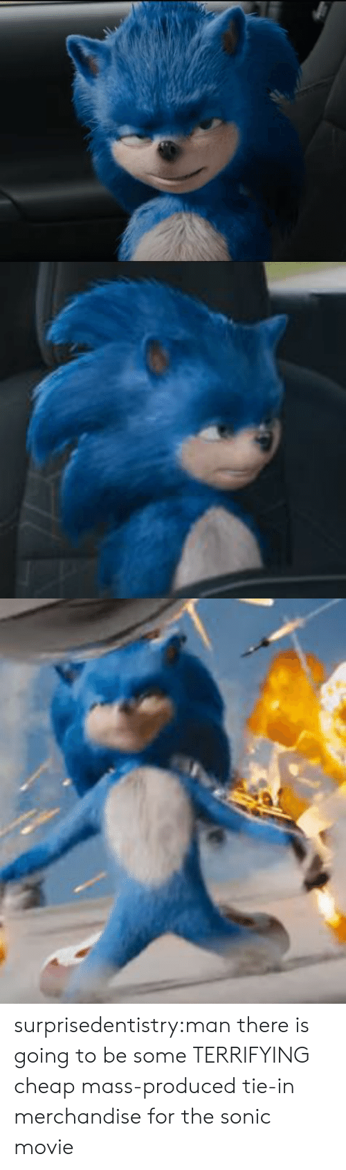 Tumblr, Blog, and Movie: surprisedentistry:man there is going to be some TERRIFYING cheap mass-produced tie-in merchandise for the sonic movie