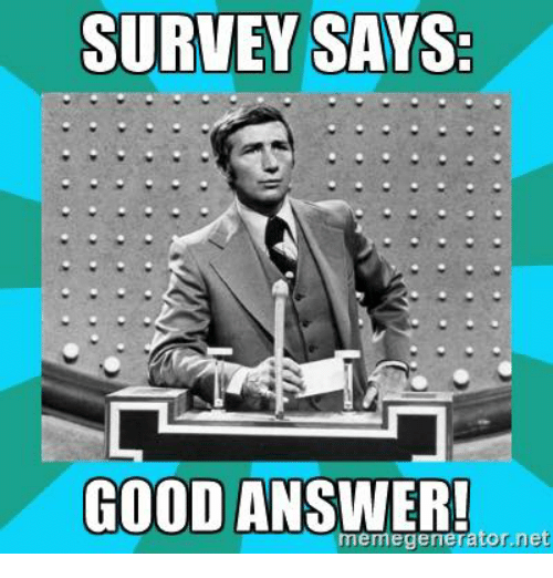 how to create a good survey
