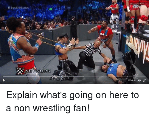 Memes, Survivor, and Survivor Series: Survivor Series  NETWORK Explain what's going on here to a non wrestling fan!