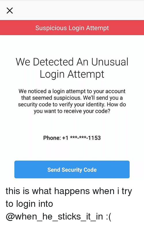 want to login