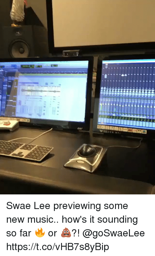 Memes, Music, and 🤖: Swae Lee previewing some new music.. how's it sounding so far 🔥 or 💩?! @goSwaeLee https://t.co/vHB7s8yBip