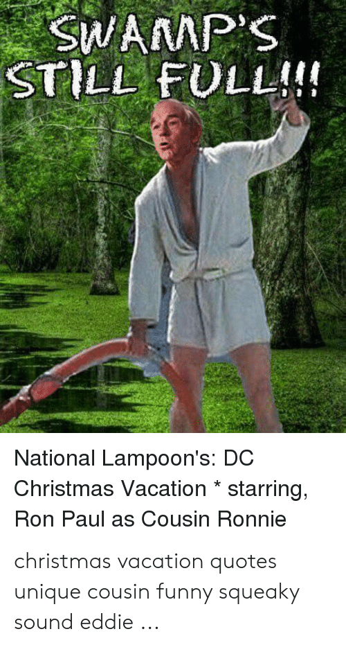 Quotes From Christmas Vacation.Swamp S Still Full National Lampoon S Dc Christmas
