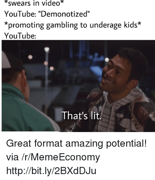 Image of: Fail Compilation Lit Youtubecom And Http Swears In Video Youtube Meme Search All The Funny Memes Meme Generator Swears In Video Youtube Demonotized promoting Gambling To Underage