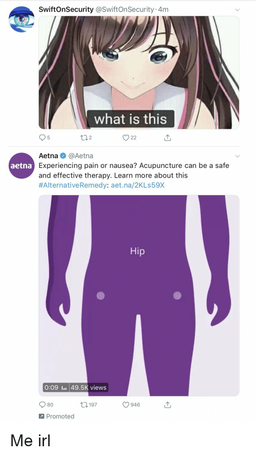SwiftOnSecurity 4m What Is This V22 Aetna Experiencing Pain