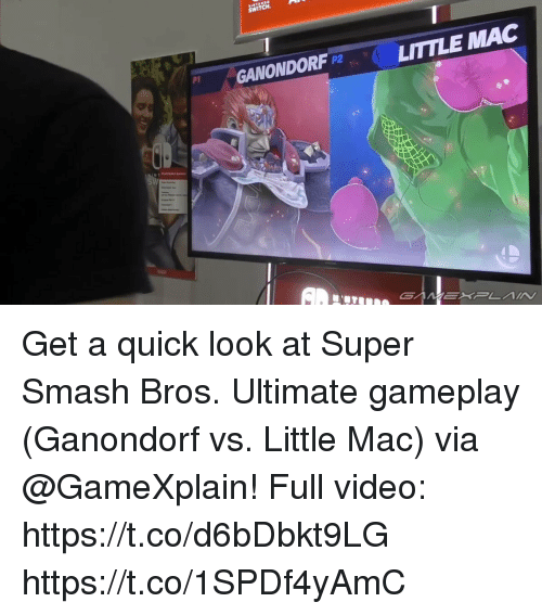 Switch Ganondorf P2 Little Mac Get A Quick Look At Super