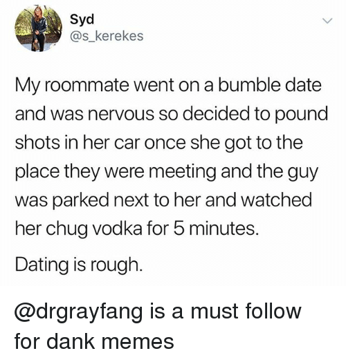 Dating a male roommate
