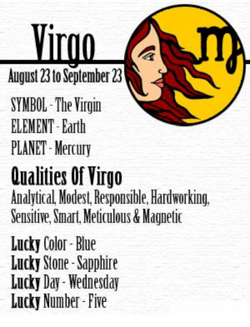 Symbol The Virgin Element Earth Planet Mercury Qualities Of Virgo