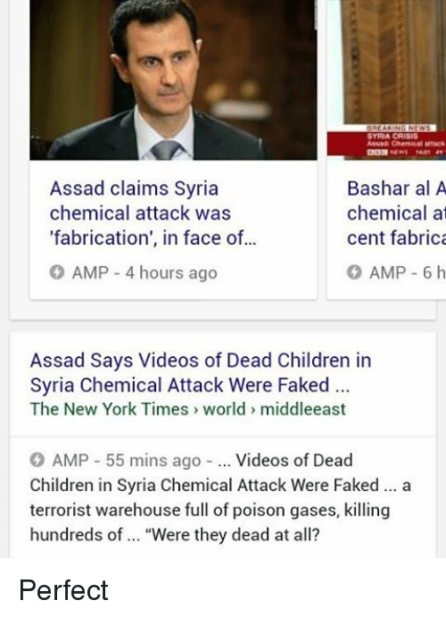 syria crisis almar chen attack assad claims syria bashar al 18982839 ✅ 25 best memes about syria chemical attack syria chemical