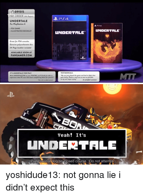 T-091515 PRE-ORDER NA Region UNDERTALE for PlayStation 4 PS4