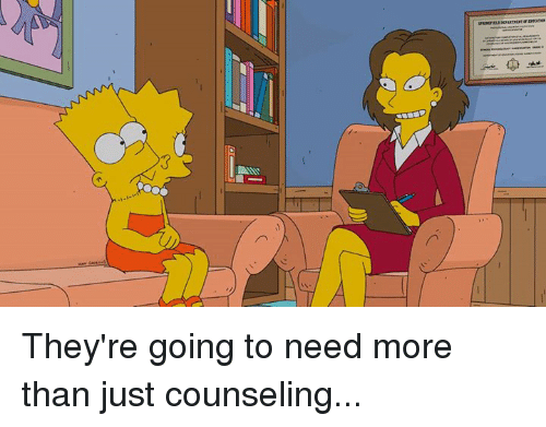 Dank, 🤖, and Counseled: t i They're going to need more than just counseling...