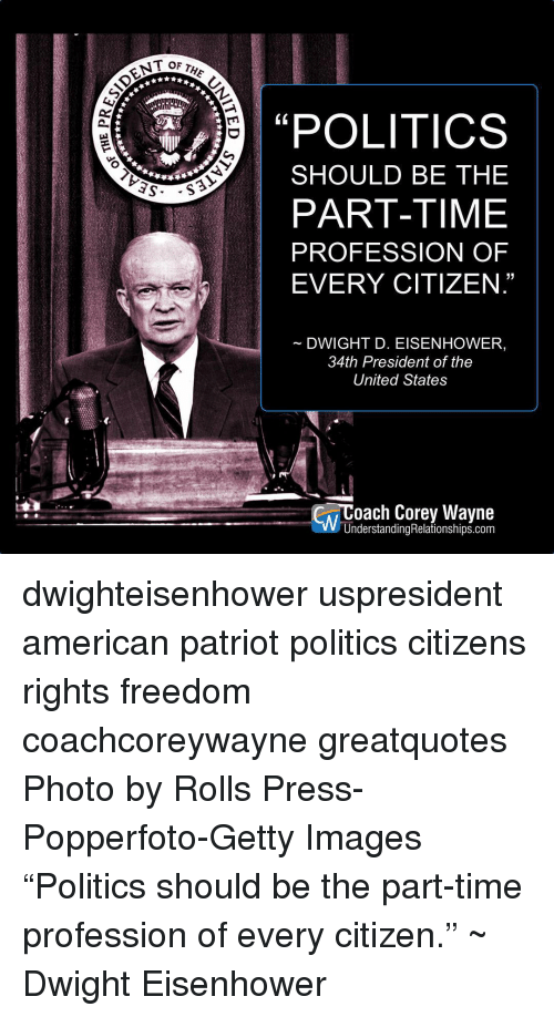 life and political career of the american president dwight d eisenhower