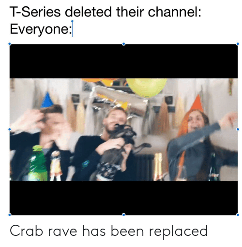 T-Series Deleted Their Channel Everyone Crab Rave Has Been