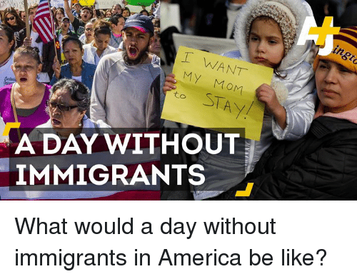t want my mom to a day without immigrants what 14563806 ✅ 25 best memes about a day without immigrants a day without
