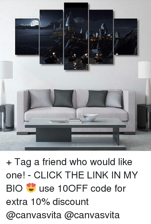 Memes, 🤖, and The Link: + Tag a friend who would like one! - CLICK THE LINK IN MY BIO 😍 use 10OFF code for extra 10% discount @canvasvita @canvasvita