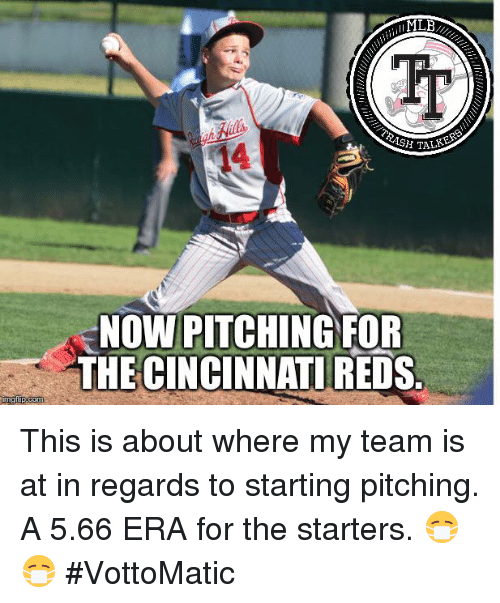 Talke Now Pitching For The Cincinnati Reds Imgfipcom This Is About