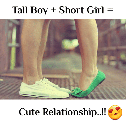 short girl and tall boy relationship tumblr funny