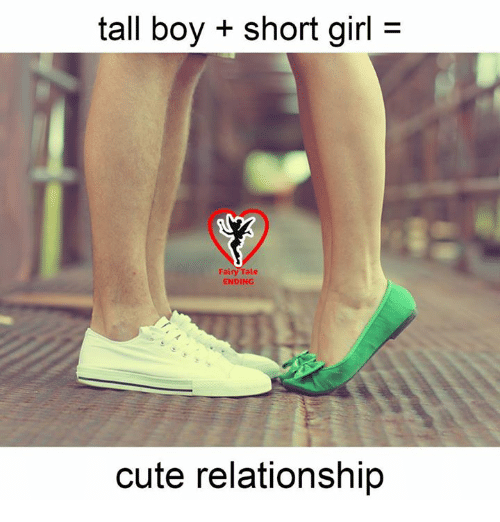 tall girl and short boy relationship