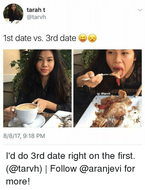 First date meme in Melbourne