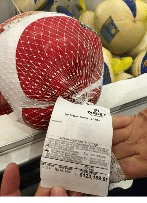 Cook from frozen whole turkey.