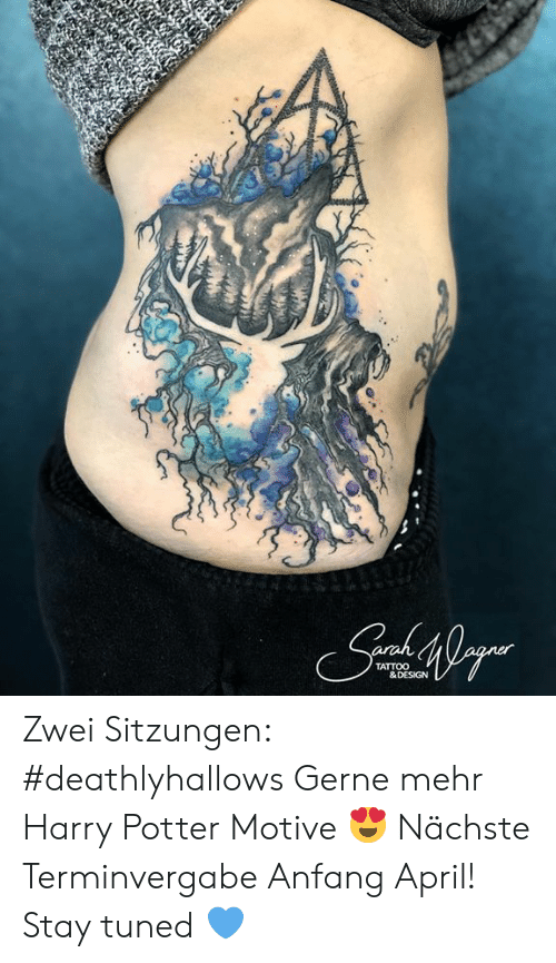 Raw Af Tattoo Collections Harry Potter Drawings 4