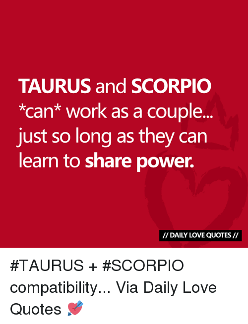 why taurus and taurus are so compatible
