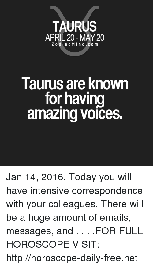 TAURUS APRIL 20-May 20 ZodiacMindcom Taurus Are Known for Having