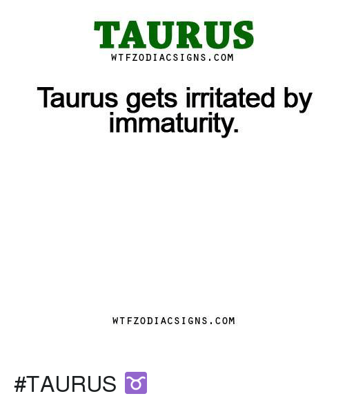 signs of immaturity